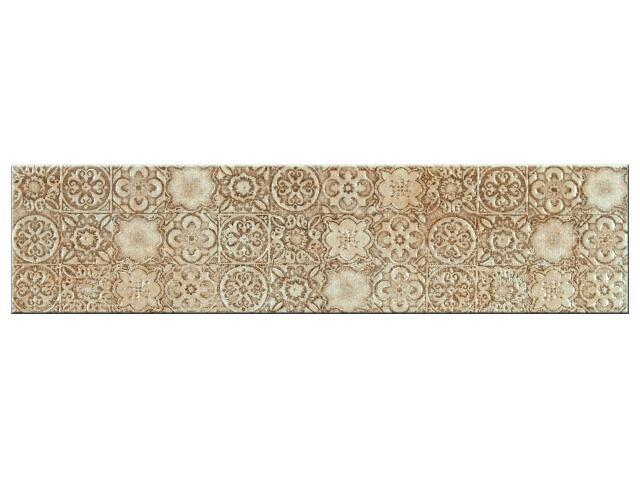 Listwa gresowa Aspen krem geo 39,6x9,6
