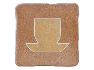Gres centro Real Stone karmin tea 4 10,9x10,9 Opoczno