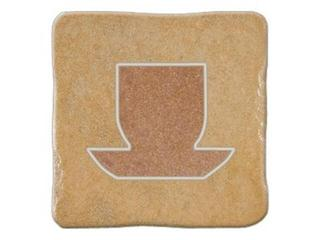 Gres centro Real Stone beż tea 4 10,9x10,9 Opoczno
