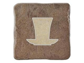 Gres centro Real Stone brąz tea 2 10,9x10,9 Opoczno