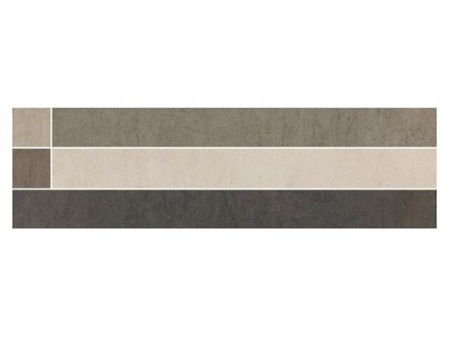 Listwa gresowa Damasco wanilia classic 29,7x8,8