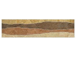 Listwa gresowa Fossile Slate multi 39,6x9,8 Opoczno