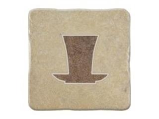 Gres centro Real Stone krem tea 2 10,9x10,9 Opoczno