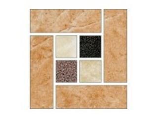 Narożnik gresowy Royal krem mosaic 9,6x9,6 Opoczno