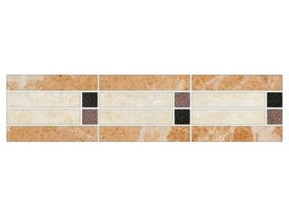 Listwa gresowa Royal krem mosaic 39,6x9,6 Opoczno