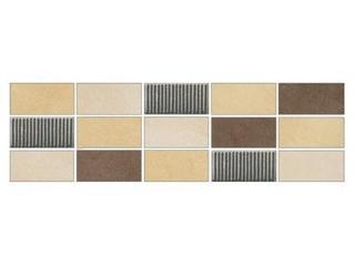 Listwa gresowa Arenisca krem mosaic 29,7x8,8 Opoczno