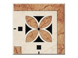 Narożnik gresowy oktawia brąz 14,8x14,8 Kastor Opoczno