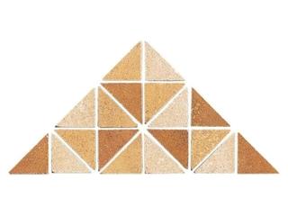 Listwa gresowa Tanger brąz mosaic 33,3x16,5 Opoczno