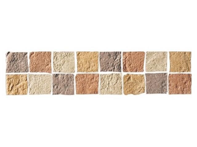 Listwa gresowa Real Stone brąz mosaic 33,3x7,9