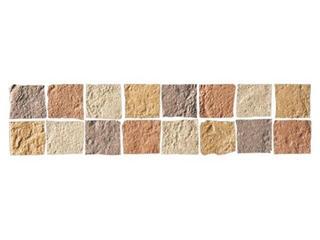 Listwa gresowa Real Stone brąz mosaic 33,3x7,9 Opoczno