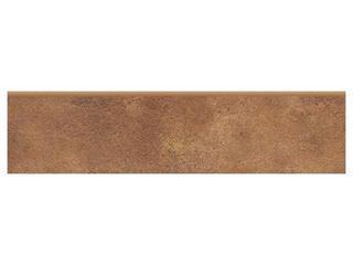 Cokół gresowy Oviedo brown 8x32,6 Cersanit