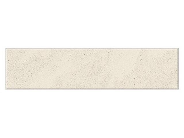 Cokół gresowy Saturn biały poler 29,5x7,2