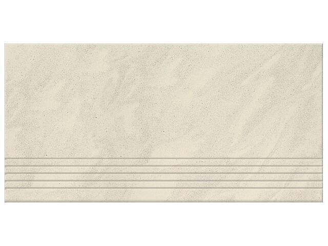 Gres Saturn biały stopień 29,5x59,5