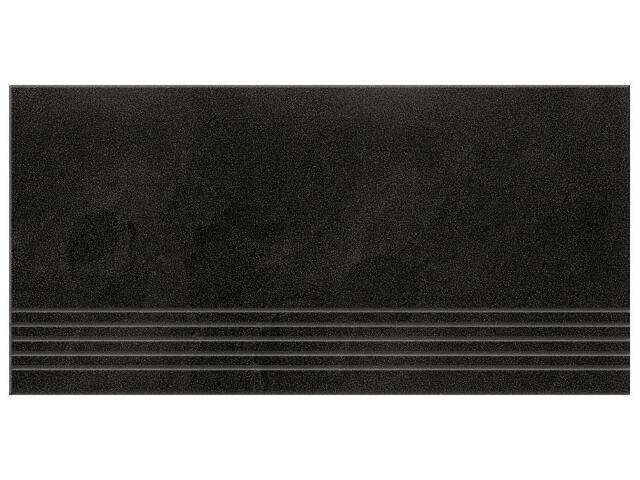 Gres Saturn supczarny stopień 29,5x59,5