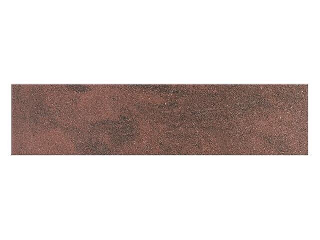 Cokół gresowy Saturn red poler 29,5x7,2