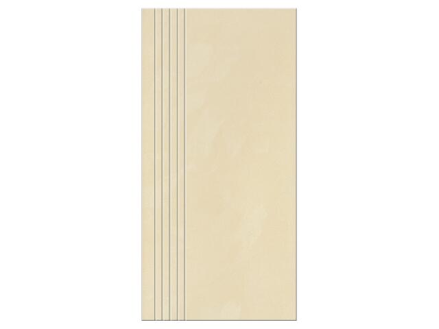 Gres Saturn beige poler stopień 29,5x59,5