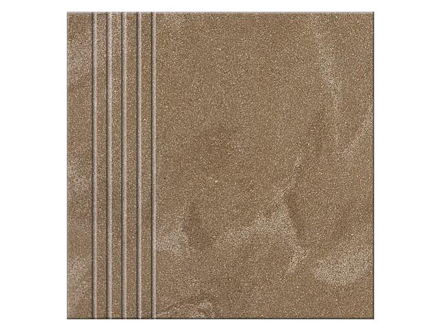 Gres Saturn brown poler stopień 29,5x29,5