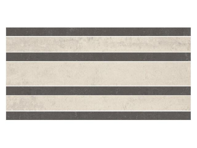 Listwa gresowa Calabria nero prosta classic 14,7x29,55