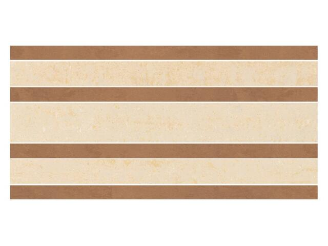 Listwa gresowa Calabria brown prosta classic 14,7x29,55