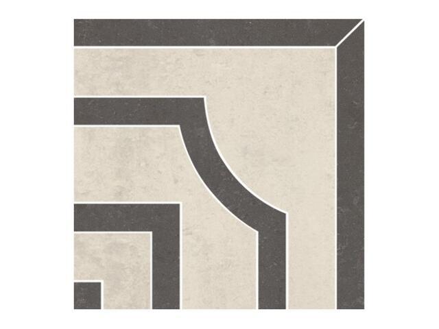 Narożnik gresowy Calabria nero classic 14,7x14,7