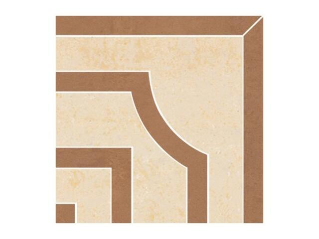 Narożnik gresowy Calabria brown classic 14,7x14,7