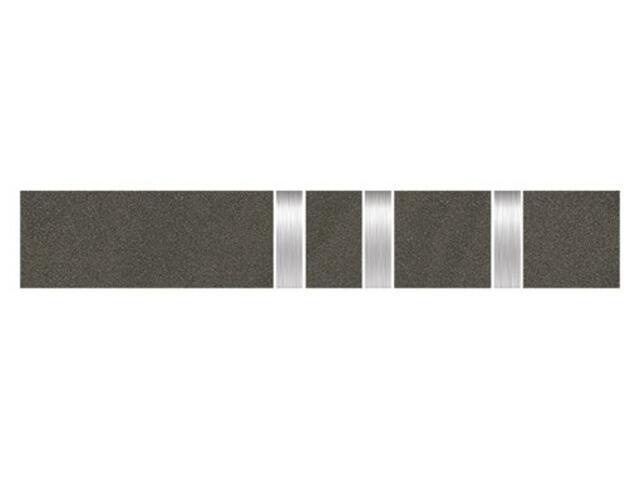 Listwa gresowa Kando nero metal 5,3x29,55