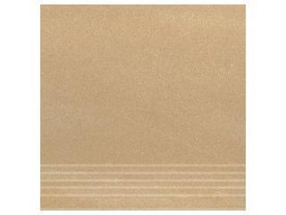 Gres Kando beige stopnica 29,55x29,55 Opoczno