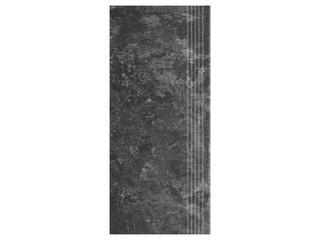 Gres Calabria nero stopnica 29,55x59,4 Cersanit