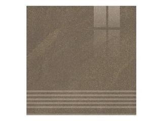 Gres Kando brown stopnica poler 29,55x29,55