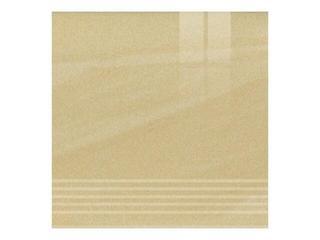 Gres Kando giallo stopnica poler 29,55x29,55 Opoczno