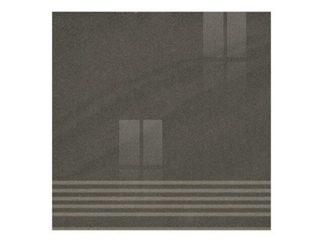 Gres Kando nero stopnica poler 29,55x29,55