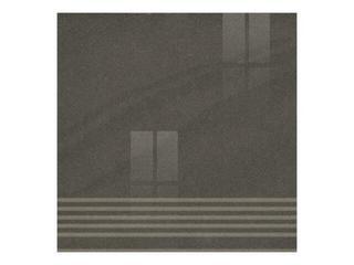 Gres Kando nero stopnica poler 29,55x29,55 Opoczno
