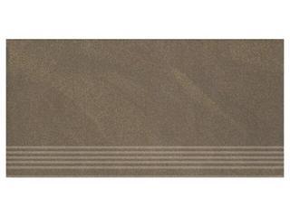 Gres Kando brown stopnica 29,55x59,4 Opoczno