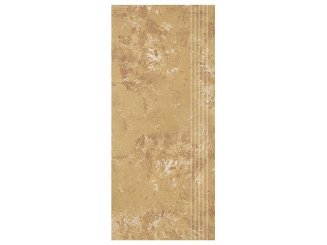 Gres Calabria brown stopnica 29,55x59,4