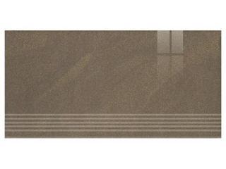 Gres Kando brown stopnica poler 29,55x59,4