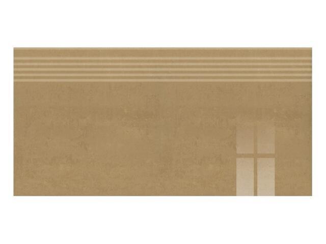Gres Calabria brown stopnica poler 29,55x59,4