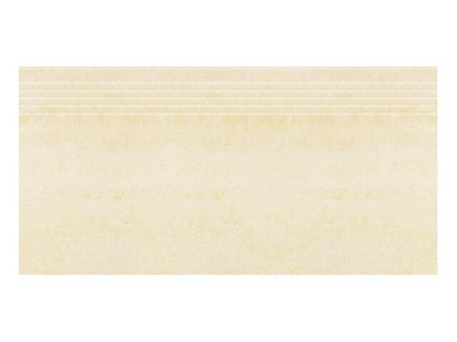 Gres Alpina bianco stopnica poler 29,55x59,4