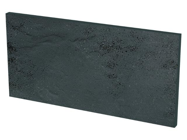 Klinkier Semir Grafit podschodowy strukturalny 14,8x30 Paradyż