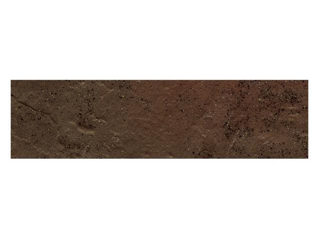 Klinkier Semir Brown elewacyjny strukturalny 6,58x24,5 Paradyż
