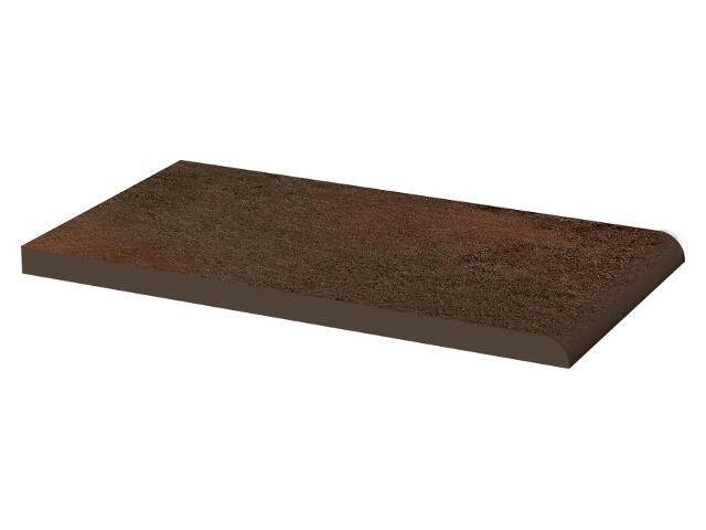 Klinkier Semir Brown parapetowy gładki 13,5x24,5 Paradyż