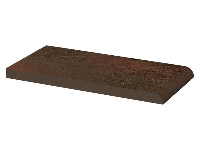 Klinkier Semir Brown parapetowy gładki 10x20 Paradyż