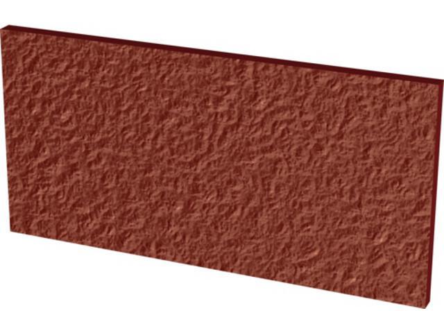 Klinkier Cloud Rosa Duro bazowy podschodowy 14,8x30 Kwadro