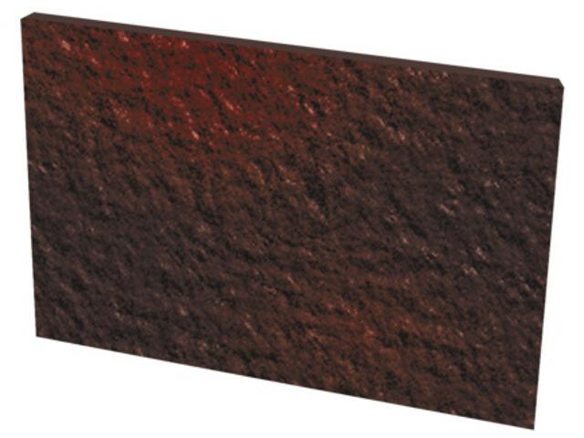 Klinkier Cloud Brown Duro bazowy podschodowy 14,8x30 Kwadro