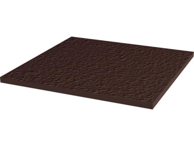 Klinkier Natural Brown Duro bazowy 30x30 Kwadro