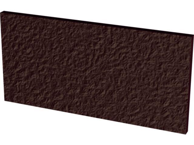 Klinkier Natural Brown Duro bazowy podschodowy 14,8x30 Kwadro