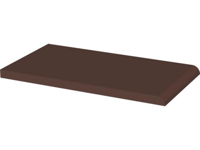 Klinkier Natural Brown parapet 24,5x13,5 Kwadro