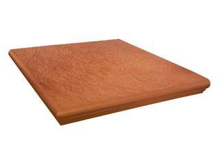 Klinkier Solar orange narożny kapinos 3-d 33x33