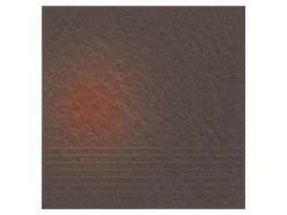 Klinkier Shadow brown stopień strukturalny 3-d 30x30 Opoczno