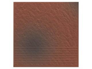 Klinkier Shadow red stopień strukturalny 3-d 30x30 Opoczno