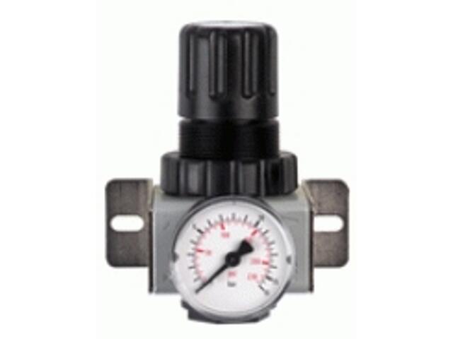 """Reduktor ciśnienia do narzędzi pneumatycznych R200 1/2"""" z manometrem Metabo"""